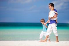 Famille des vacances Photo libre de droits