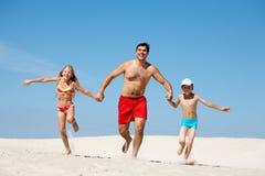 Famille des vacances photographie stock