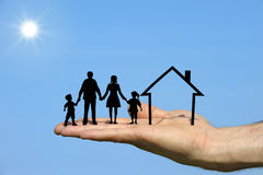 Famille deux Images libres de droits