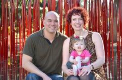 Famille diverse Images libres de droits