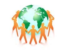 Famille du monde Image libre de droits