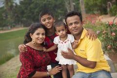 Famille du ` s d'Amila Images libres de droits