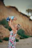 Famille en nature Images libres de droits
