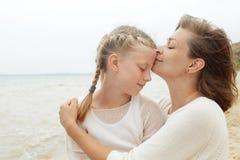 famille enfants et concept heureux de parent Photographie stock