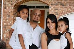 Famille ensemble Photos stock