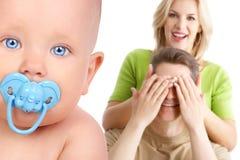 Famille et chéri Photo stock