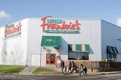 Famille et restaurant de peu de Frankie Images stock