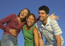 Famille heureuse 17 Photos libres de droits