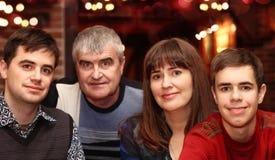 Famille heureuse Photo libre de droits