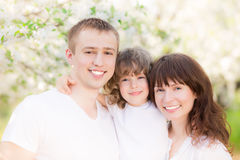 Famille heureuse Image stock
