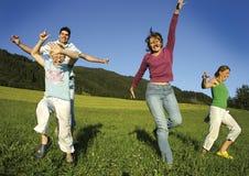 Famille heureuse 6 Photo libre de droits