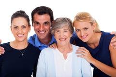 Famille heureuse de portrait images stock