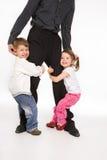 Famille heureuse II Photo libre de droits