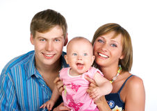 Famille heureux Image stock