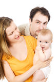 Famille heureux Photo libre de droits