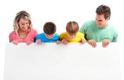 Famille heureux image libre de droits