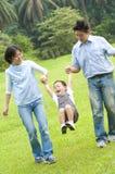 Famille heureux Photos stock