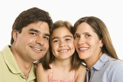 Famille heureux. Images stock