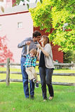 Famille heureux photo stock