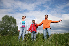 Famille heureux Images stock