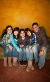 Famille hispanique Photos stock