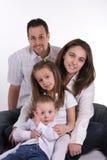 Famille idéal Photo stock