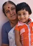 Famille indienne Image stock