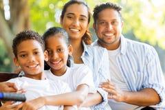 Famille indienne heureuse Image libre de droits
