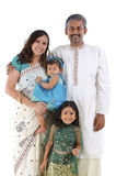 Famille indienne traditionnelle Images stock