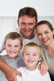 Famille joyeuse Photo libre de droits