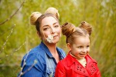 famille Mère et fille Photo libre de droits