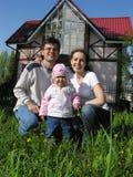 Famille. maison images stock