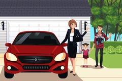 Famille moderne illustration de vecteur