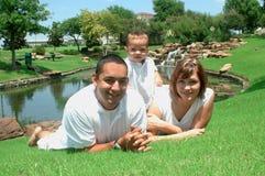 Famille neuf image libre de droits
