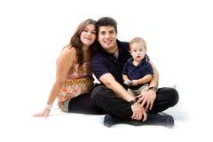 Famille neuf Photos stock