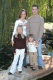 Famille occasionnel Image libre de droits