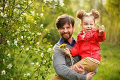 famille Père et fille image libre de droits