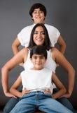 Famille parfaite Image stock