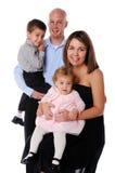 famille quatre Photo libre de droits