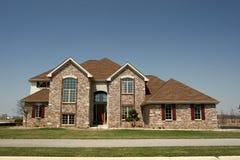 Famille résidentiel à la maison de subdivision de Chambre Photo stock