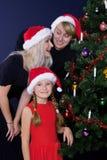 Famille riante Photographie stock libre de droits