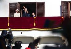 Famille royale de la Roumanie Photographie stock