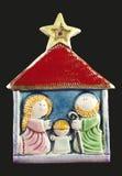 Famille sainte Image libre de droits