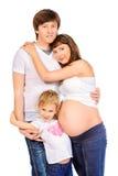 Famille unie Photos libres de droits