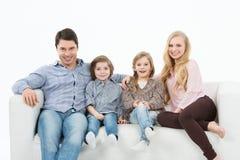 Famille unie Image libre de droits