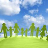 Famille unie Photos stock