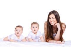 Famille unie Photo libre de droits