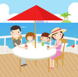 Familly holiday Stock Images
