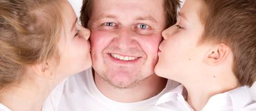 Familly love Stock Photography
