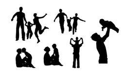 Family. Run jump family silhouettes jpg version